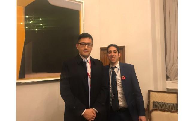林卓廷與英國外交部會面  英方關注DQ案及年青領袖被檢控事件